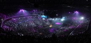 sold out stadium concert