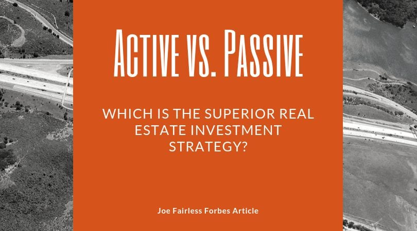 passive vs active investing Forbes article