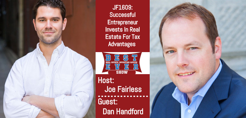 Dan Handford and Joe Fairless on the Best Ever Show flyer