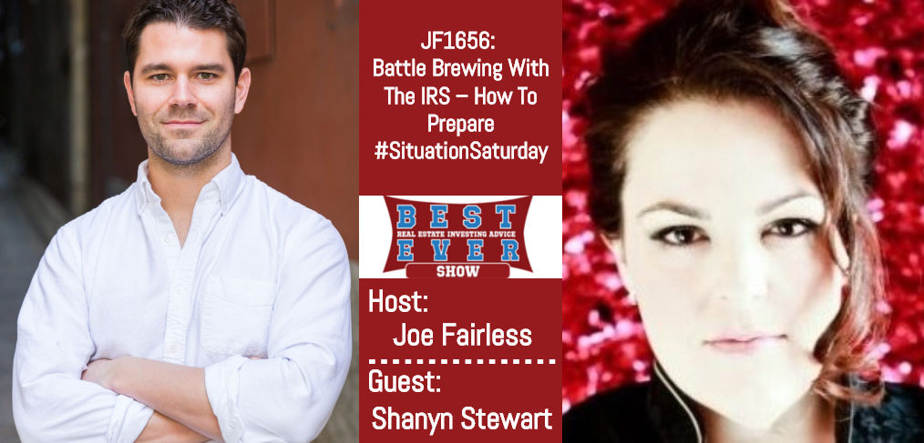Joe Fairless and Shanyn Stewart podcast episode JF1656
